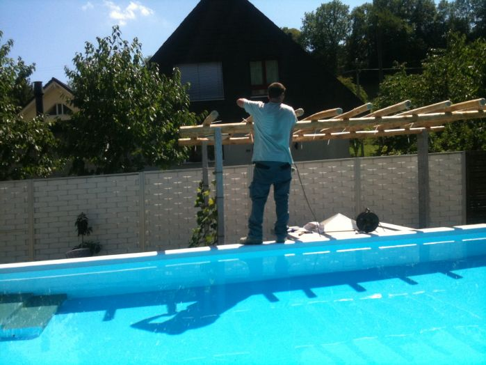 Pergola/Swimmingpool
